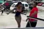 Girl KO'ed For Acting Slutty